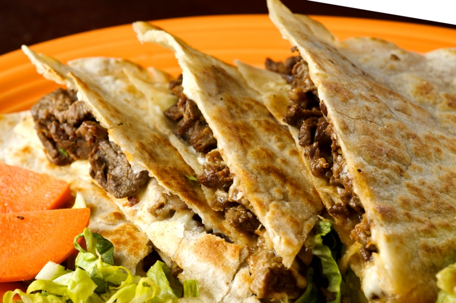 Grilled Beef Quesadillas